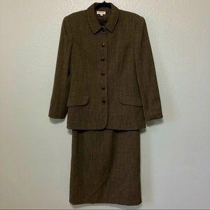 Vantana Italy 100% wool 2pc suit